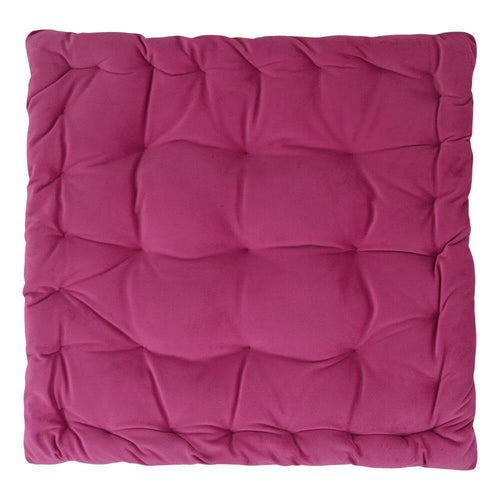 CUSHION | velvet meditation 40 × 40 cm | Pink | - bakker made with love