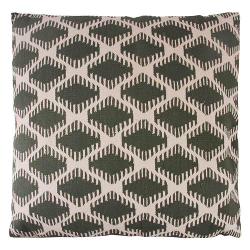 FLOOR CUSHION | toubkal 90 x 90 cm | Diamond Khaki | - bakker made with love