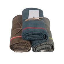 Load image into Gallery viewer, KNITTED GUEST TOWELS | set of 3 - Forest | - bakker made with love