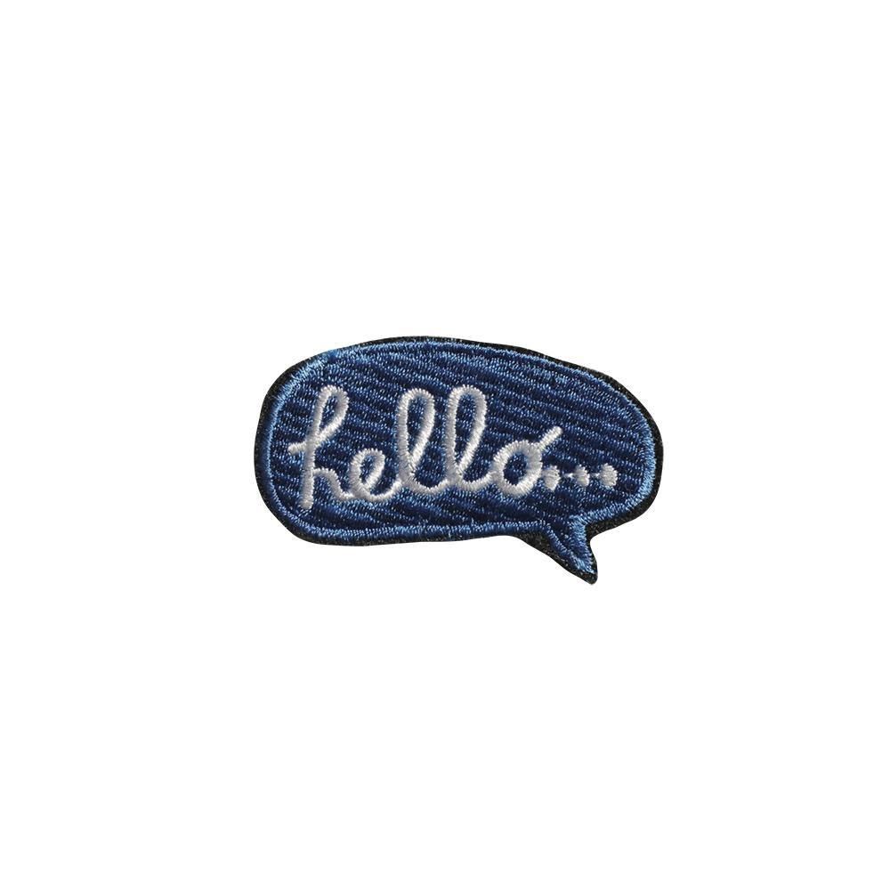 PATCHES EMBROIDERED | hello | - bakker made with love