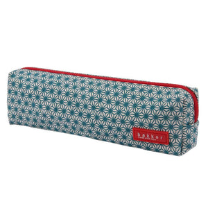 PENCIL CASE | canvas bakker classic - xturquoise | - bakker made with love