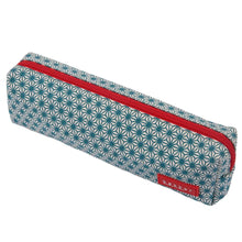Load image into Gallery viewer, PENCIL CASE | canvas bakker classic - xturquoise | - bakker made with love
