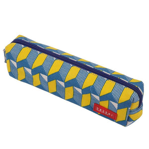 PENCIL CASE | canvas bakker classic - watanabe yellow | - bakker made with love