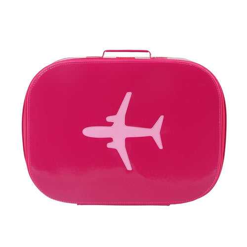 SUITCASE | Vinyl - fuchsia | - bakker made with love