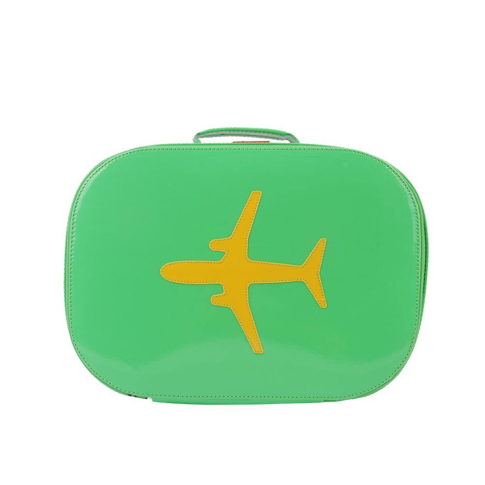 SUITCASE | Vinyl - green | - bakker made with love