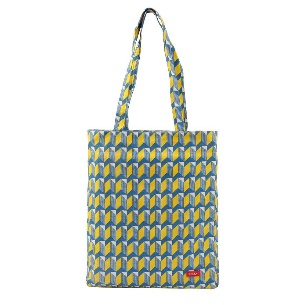 TOTE BAG BIG | canvas bakker - watanabe yellow | - bakker made with love