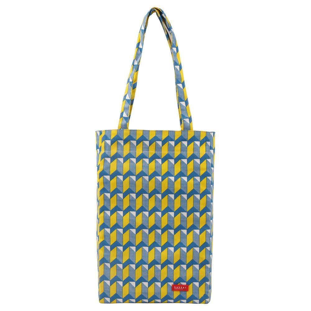 TOTE BAG | canvas bakker - watanabe yellow | - bakker made with love