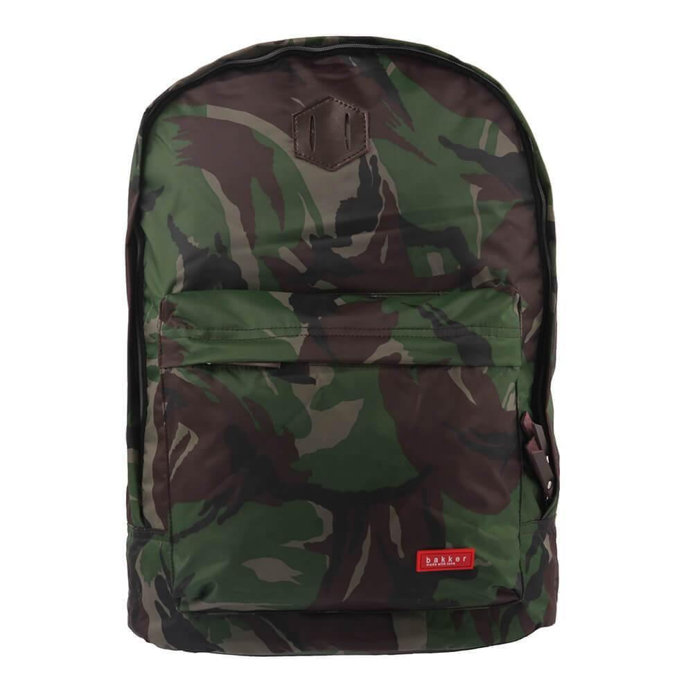 BACKPACK XTRA | light - camouflage | - bakker made with love