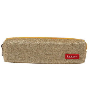 PENCIL CASE | glitter - gold | - bakker made with love