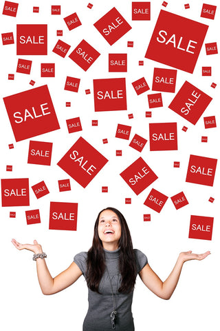 FOMO Fear of Missing Out when there's a sale on!