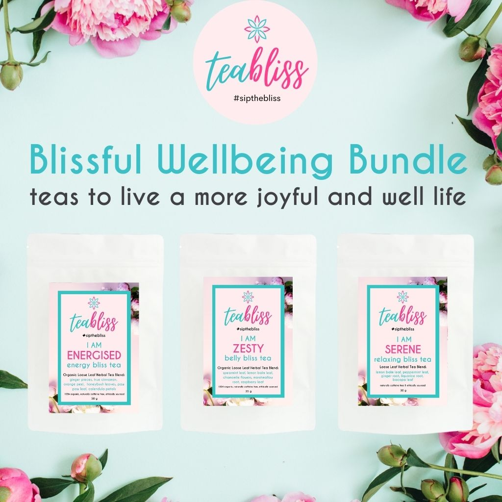 Blissful Wellbeing Bundle-Bundle-TeaBliss-TeaBliss
