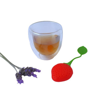 Strawberry Bliss Tea Infuser-TeaWares-TeaBliss-TeaBliss