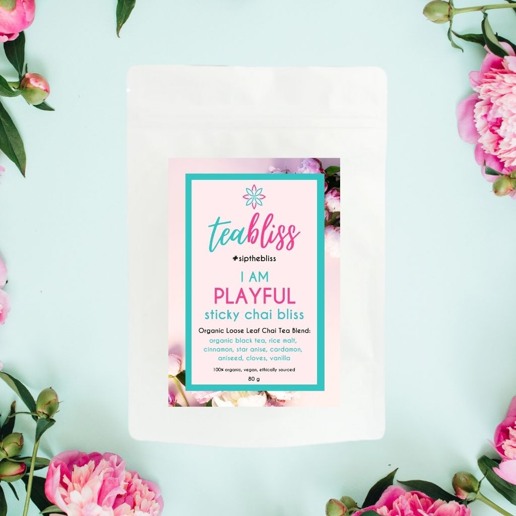 Playful Sticky Chai Bliss Tea-Tea-TeaBliss-TeaBliss