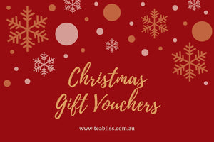 TeaBliss Chrismas Gift Vouchers