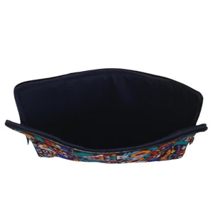 African Print Laptop Case-  Multi Color