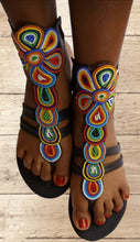 Load image into Gallery viewer, African Gladiator Sandal