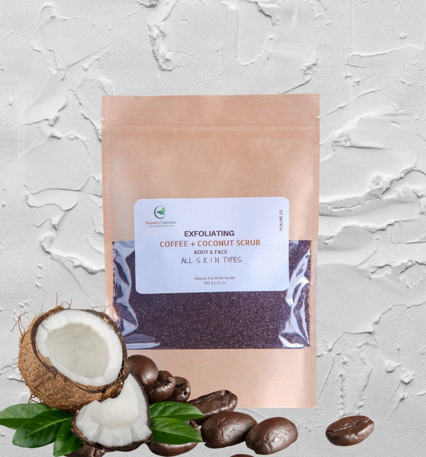 COFFEE COCONUT SCRUB (EXFOLIATING)