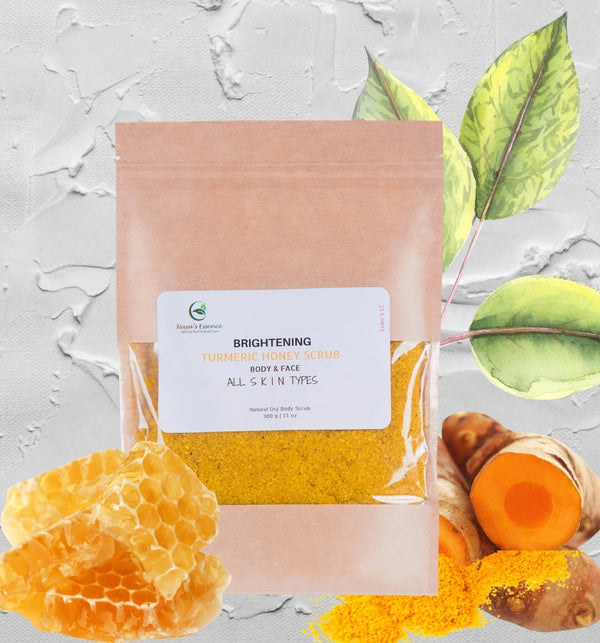 Turmeric Honey Scrub (BRIGHTENING)