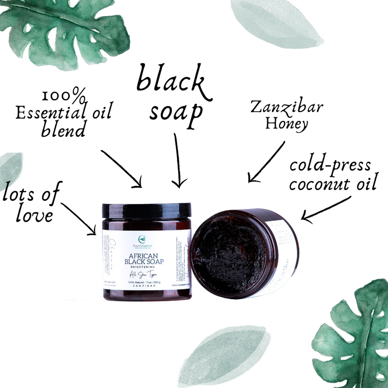 African Black Soap (All skin types)