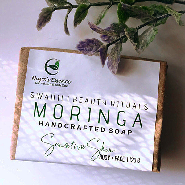 Moringa Soap  (Sensitive skin/Matured skin)