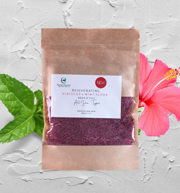 HIBISCUS MINT SCRUB (REJUVENATING)