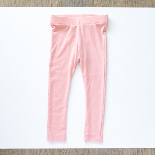 Blush Pink Fitted Leggings - Ready to Ship