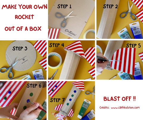 Make Your Own Rocket Out of a Box