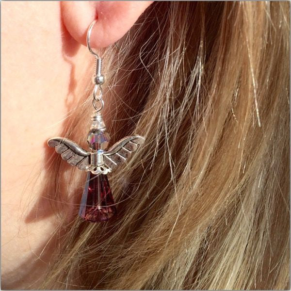 Angel Earrings (Original Design)