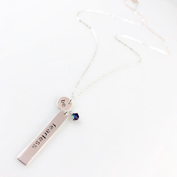"""Heart Speak"" Necklaces (Be Fearless)"