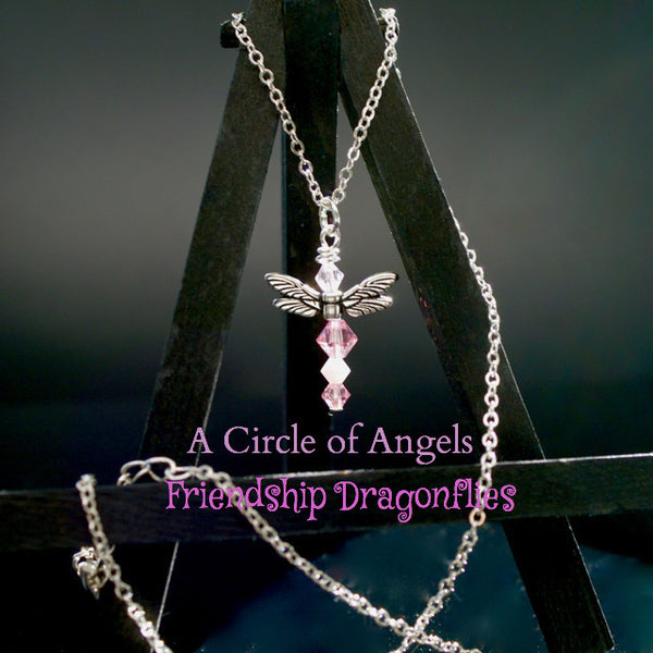 *New* Friendship Dragonfly Necklaces (A Circle of Angels)