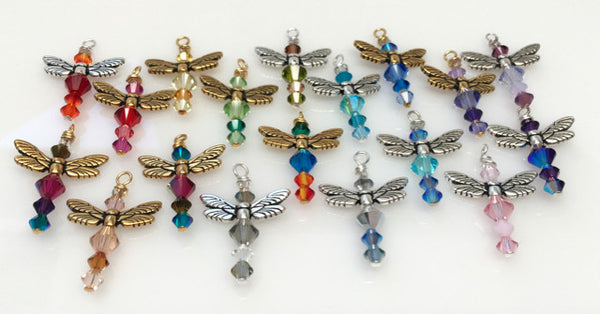 Friendship Dragonfly Necklaces (A Circle of Angels)