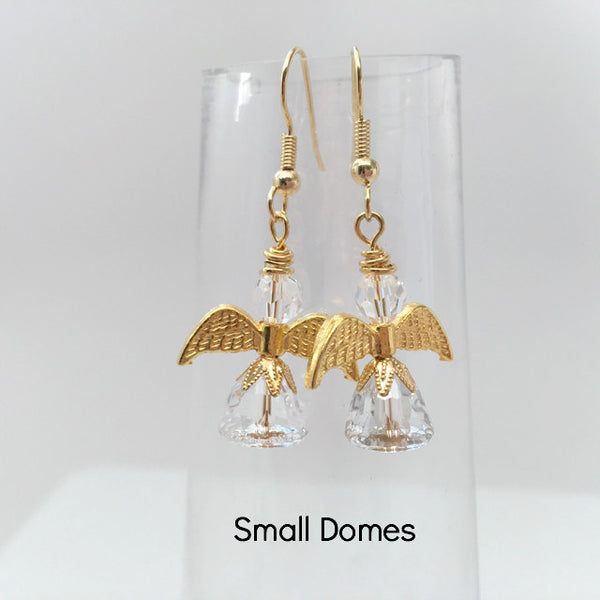 "Angel Earrings - ""Dome"" Design"