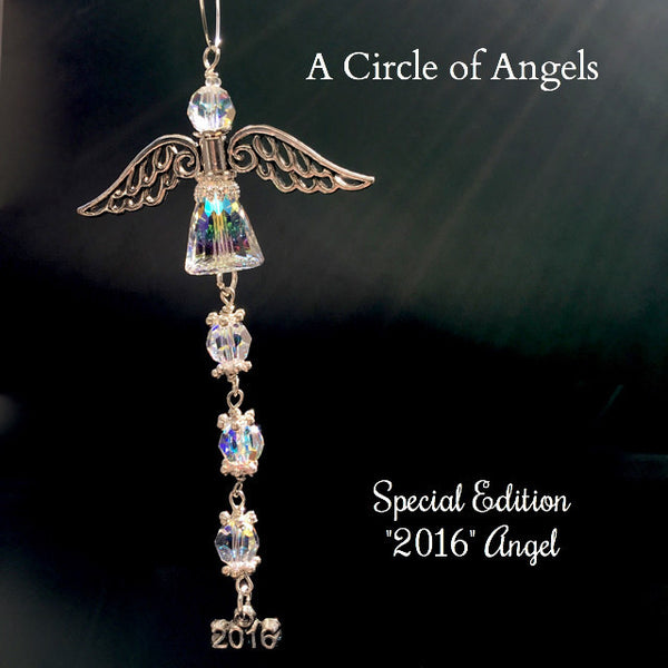 **New** 2016 Special Edition Angel Suncatcher