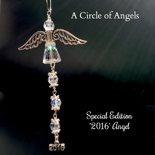 2016 Special Edition Christmas Angel Suncatcher