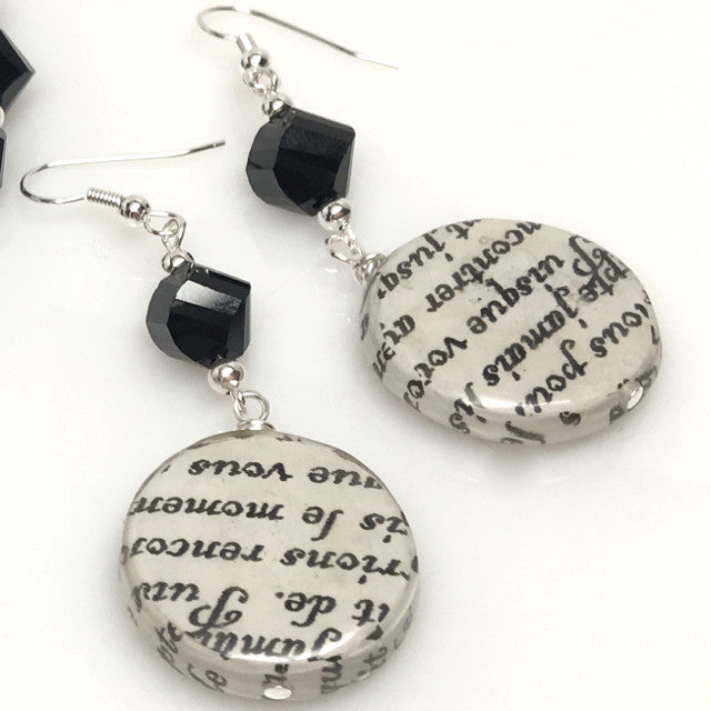 """Love Story"" Earrings"