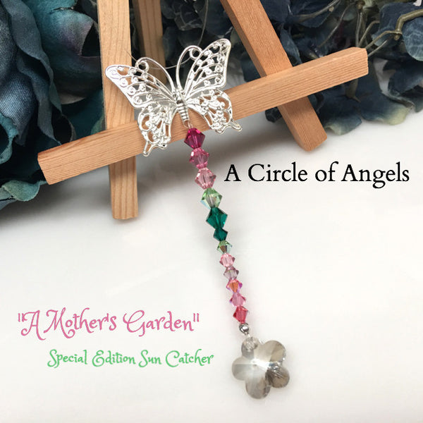 """A Mother's Garden"" Sun Catcher ~ A Circle of Angels"
