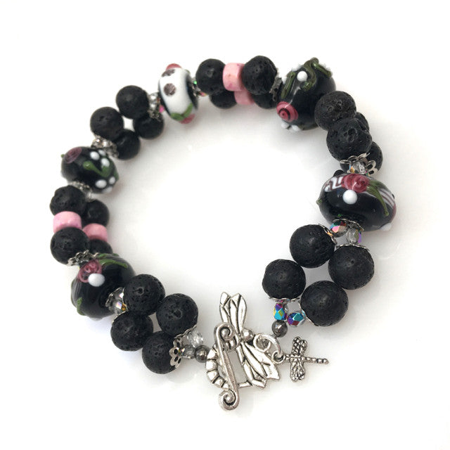 """Midnight Rose"" Bracelet"