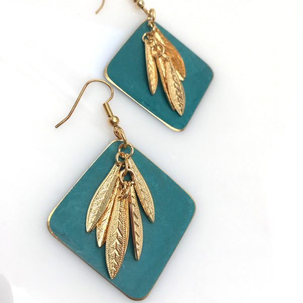 """Breezy"" Drop Earrings"