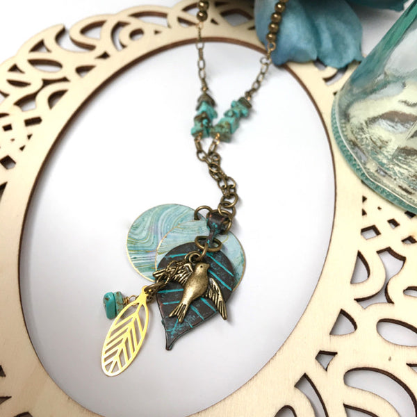 """Spring Flight"" Necklace"