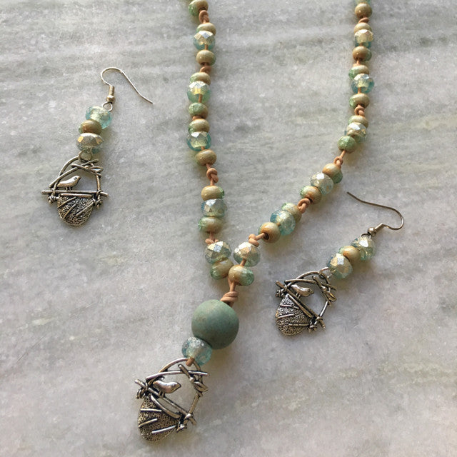"""New Beginnings"" Necklace Set"