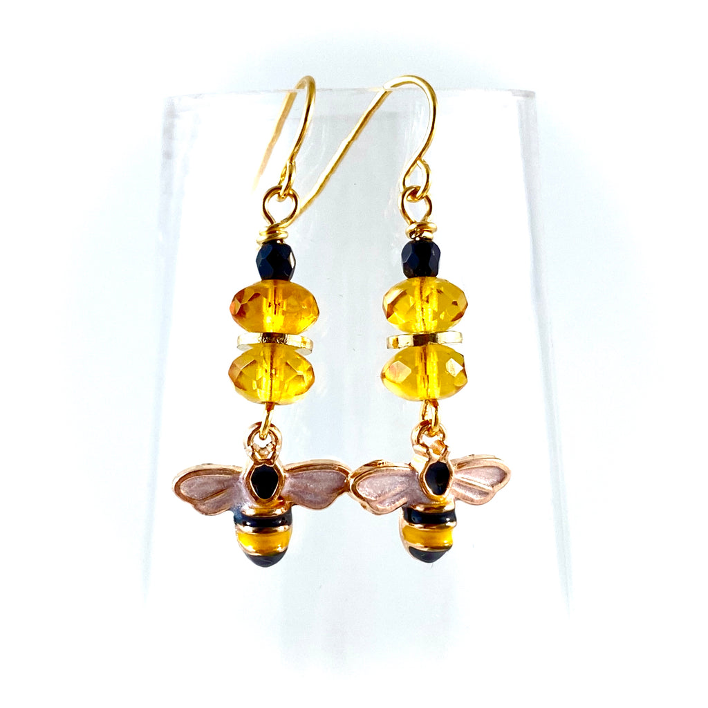 """Just Bee"" Earrings"