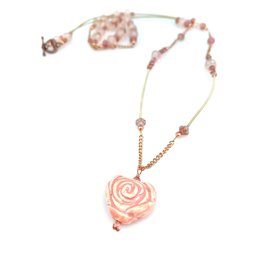 """Petal Shower"" Necklace"