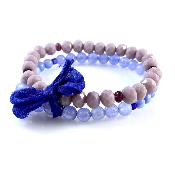 """Moody Blues"" Bracelet"