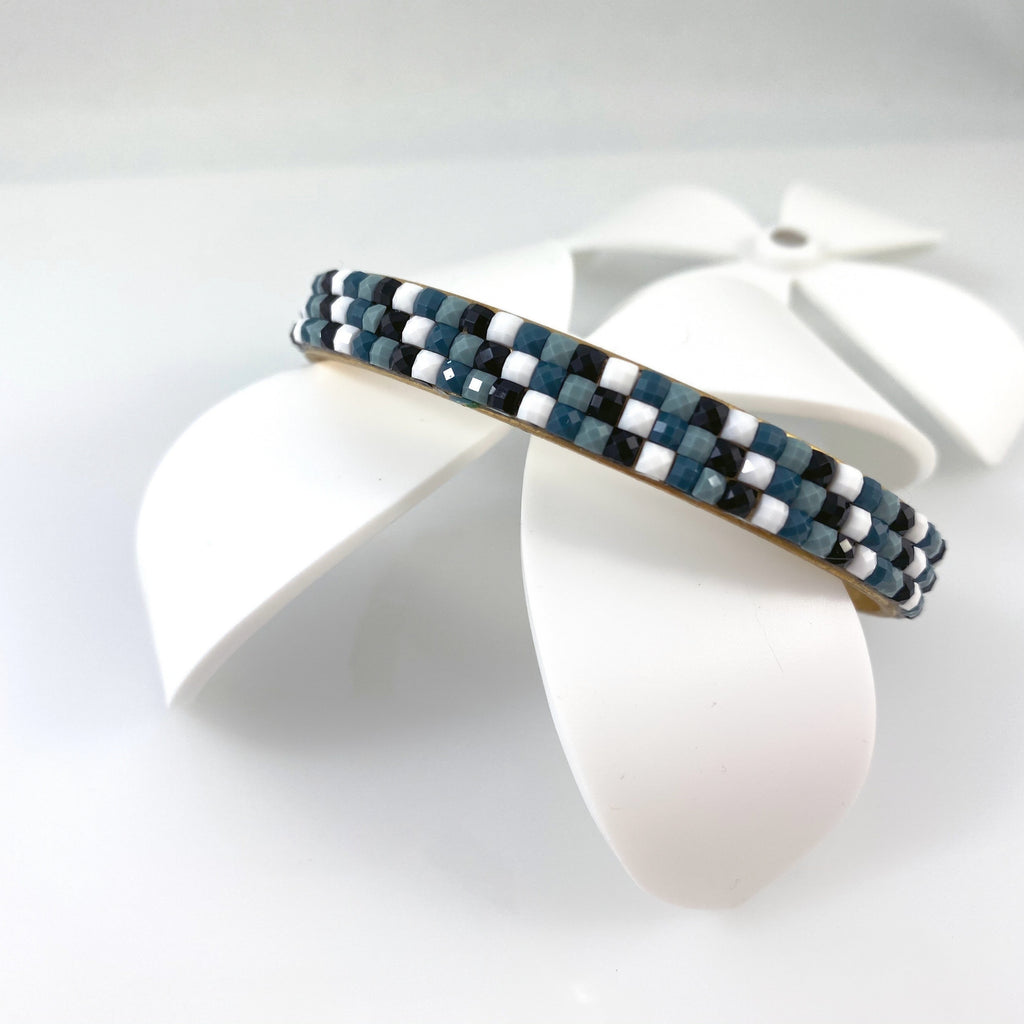 """Patchwork Cuff"" Bracelets (Various Colours)"