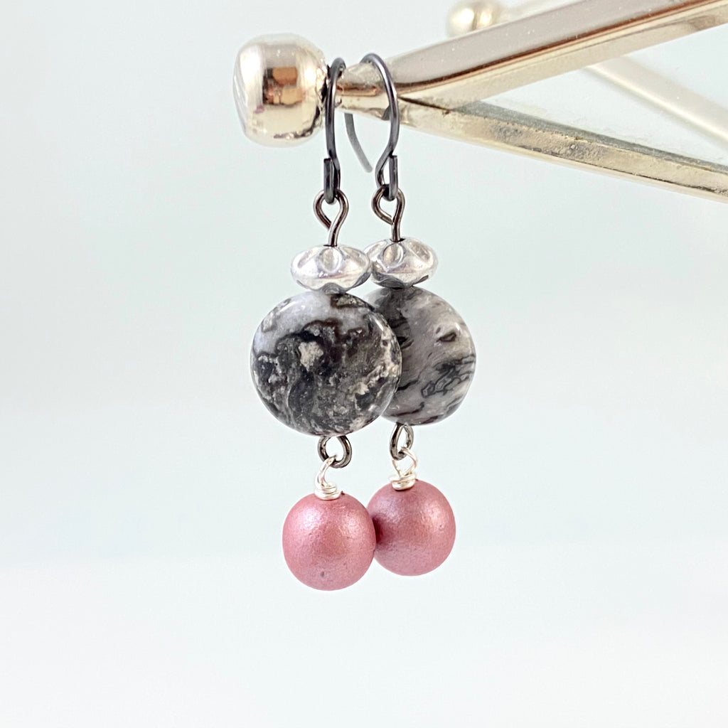 """Muted Skies"" Earrings"