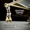 """Heart of Gold"" Earrings - The 2020 Christmas Bureau Collection"