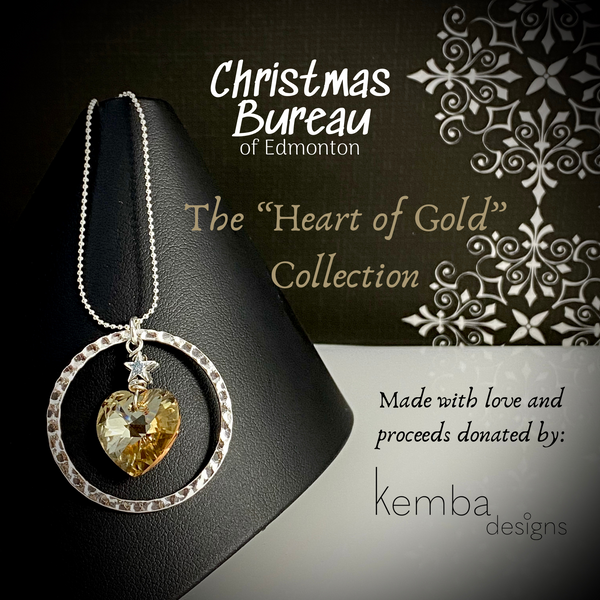 """Heart of Gold"" Necklace - The 2020 Christmas Bureau Collection"