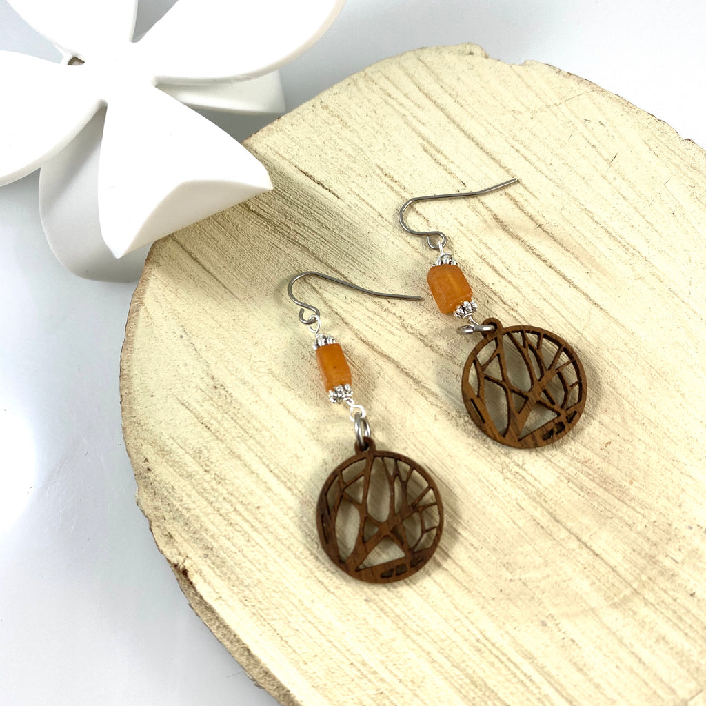 """Into the Woods"" Earrings"