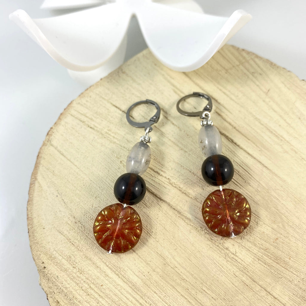"""Sunset Stroll"" Earrings"