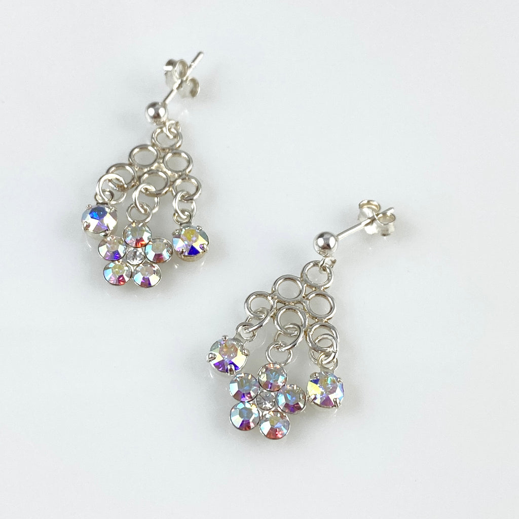 """Shimmer Knot"" Earrings"